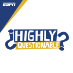 Espn, Bobby Bob Knight and Robert Avid discussed on Highly Questionable
