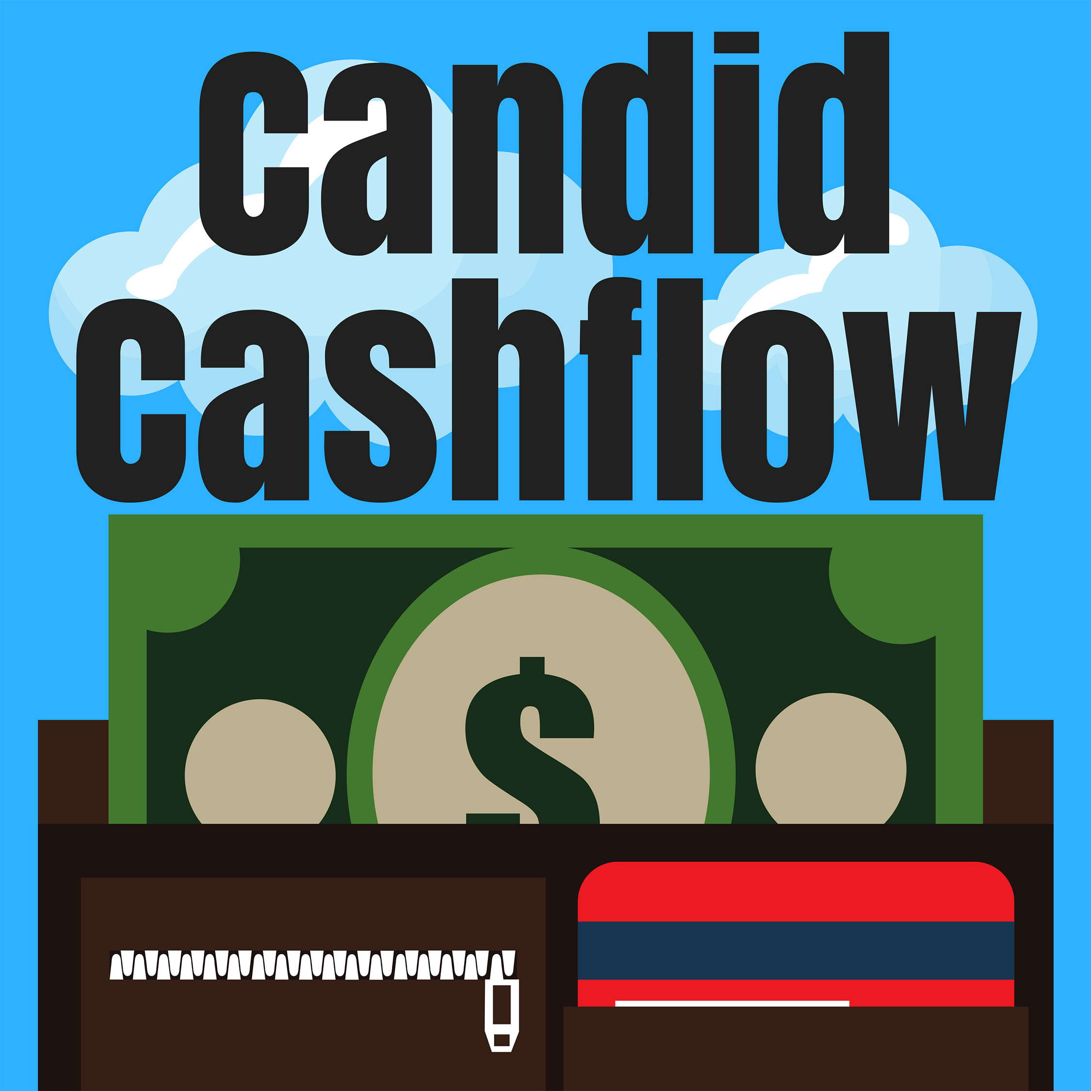 49: Earn Money From Your Artwork and Never Be a Starving Artist - The Candid Cashflow Podcast | Make Money Online | Entrepreneur | Artist