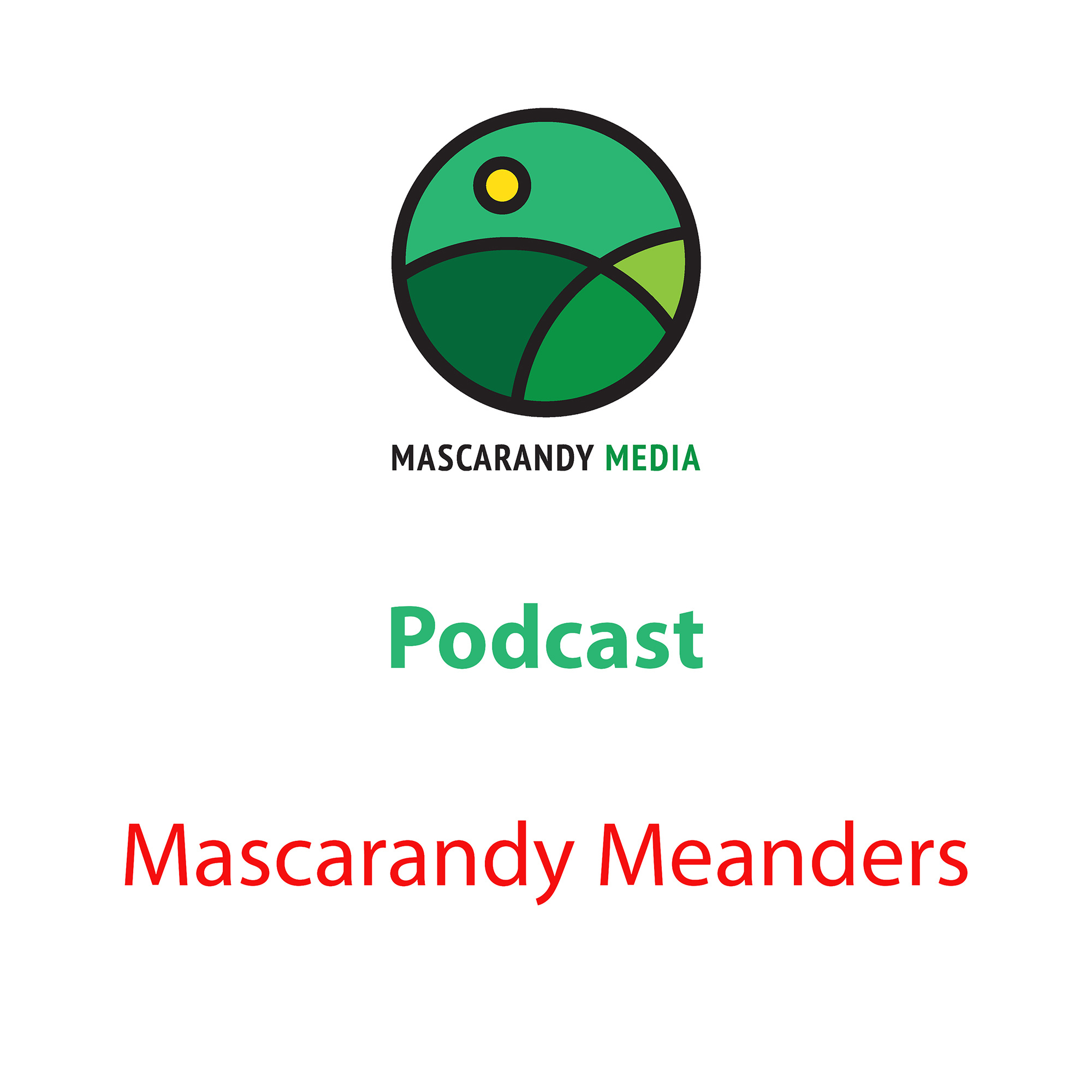 Mascarandy Meanders Podcast (#1)