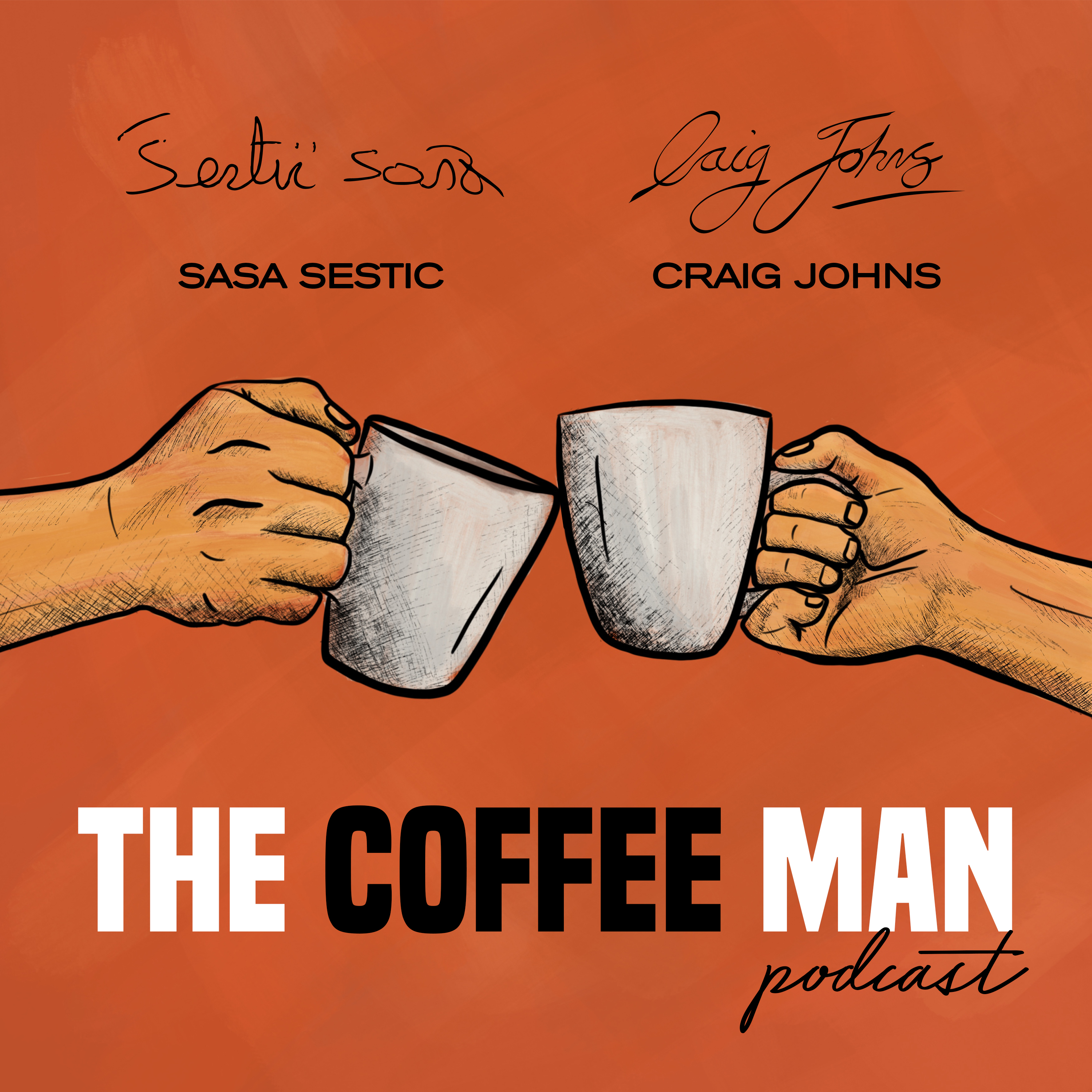The Coffee Man Podcast #9 Think & Support Local